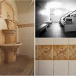 Dampfbad im Saunabereich 1. Klasse